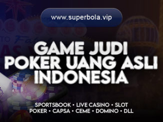 Game Judi Poker - Superbola