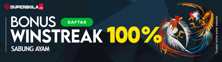 Sabung Ayam Bonus Winstreak 100% - Superbola